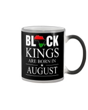 BLACK KINGS ARE BORN IN AUGUST Color Changing Mug thumbnail