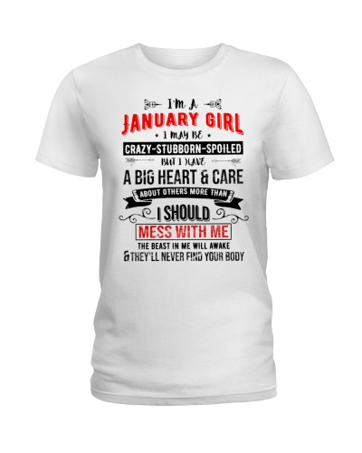 JANUARY GIRL - DONT MESS WITH ME