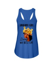 JANUARY - LIMITED EDITION Ladies Flowy Tank front