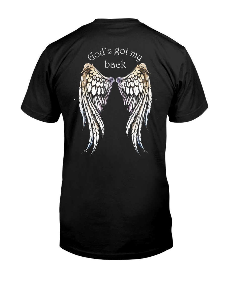 GOD'S GOT MY BACK - WARRIOR OF CHRIST Classic T-Shirt