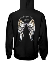 GOD'S GOT MY BACK - WARRIOR OF CHRIST Hooded Sweatshirt thumbnail