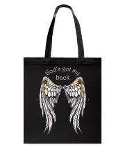 GOD'S GOT MY BACK - WARRIOR OF CHRIST Tote Bag thumbnail