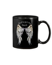 GOD'S GOT MY BACK - WARRIOR OF CHRIST Mug thumbnail