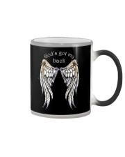 GOD'S GOT MY BACK - WARRIOR OF CHRIST Color Changing Mug thumbnail