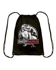 DADDY SAURUS Drawstring Bag thumbnail