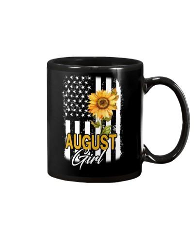 AUGUST GIRL FLAG