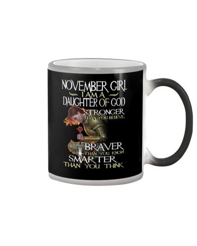 NOVEMBER GIRL - I AM A DAUGHTER OF GOD
