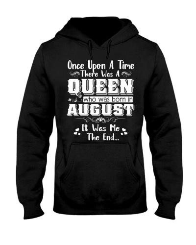 ONE UPON A TIME THERE WAS AN AUGUST QUEEN