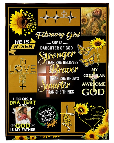 FEBRUARY GIRL - SHE IS DAUGHTER OF GOD