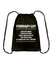 FEBRUARY GUY - LIMITED EDITION Drawstring Bag tile