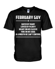 FEBRUARY GUY - LIMITED EDITION V-Neck T-Shirt thumbnail