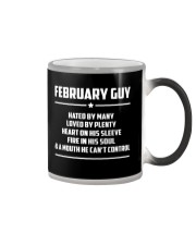 FEBRUARY GUY - LIMITED EDITION Color Changing Mug thumbnail