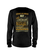 LEGENDS ARE BORN IN MAY Long Sleeve Tee thumbnail