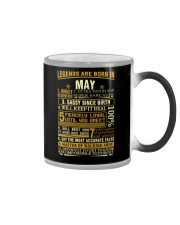 LEGENDS ARE BORN IN MAY Color Changing Mug thumbnail