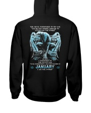 DEVIL WHISPERED - JANUARY MAN Hooded Sweatshirt thumbnail
