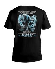 DEVIL WHISPERED - JANUARY MAN V-Neck T-Shirt thumbnail