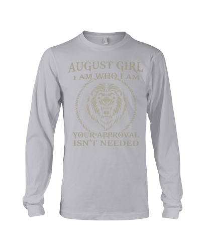 AUGUST GIRL I AM WHO I AM