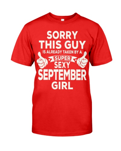 SUPER SEXY SEPTEMBER GIRL - LIMITED EDITION