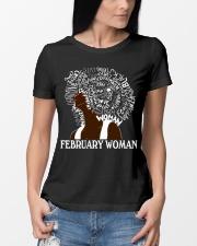 FEBRUARY BLACK WOMAN  Ladies T-Shirt lifestyle-women-crewneck-front-10