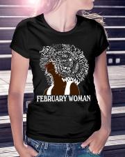 FEBRUARY BLACK WOMAN  Ladies T-Shirt lifestyle-women-crewneck-front-7