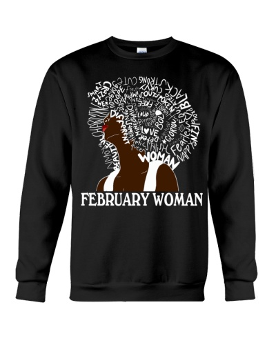 FEBRUARY BLACK WOMAN