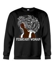 FEBRUARY BLACK WOMAN  Crewneck Sweatshirt thumbnail