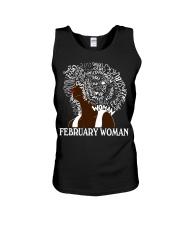 FEBRUARY BLACK WOMAN  Unisex Tank thumbnail