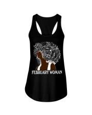 FEBRUARY BLACK WOMAN  Ladies Flowy Tank thumbnail