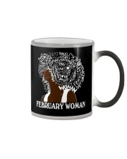 FEBRUARY BLACK WOMAN  Color Changing Mug thumbnail
