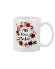 NOT TODAY SATAN - WARRIOR OF CHRIST Mug thumbnail