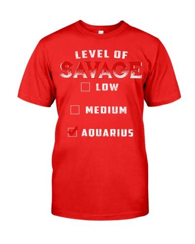 LEVEL OF SAVAGE - AQUARIUS