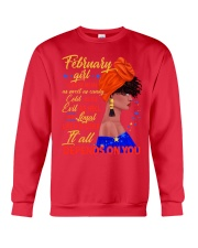 FEBRUAR GIRL - IT ALL DEPENDS ON YOU Crewneck Sweatshirt front