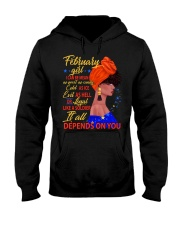 FEBRUAR GIRL - IT ALL DEPENDS ON YOU Hooded Sweatshirt thumbnail
