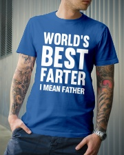 WORLD'S BEST FARTER - I MEAN FATHER Classic T-Shirt lifestyle-mens-crewneck-front-6