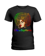 YES I AM A SAGITTARIUS Ladies T-Shirt front