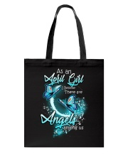 APRIL GIRL BELIEVE THERE ARE ANGELS AMONG US Tote Bag thumbnail