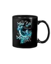 APRIL GIRL BELIEVE THERE ARE ANGELS AMONG US Mug thumbnail