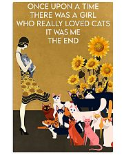 ONCE UPON A TIME THERE WAS A GIRL WHO LOVED CATS 16x24 Poster front