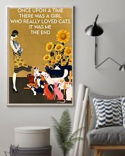 ONCE UPON A TIME THERE WAS A GIRL WHO LOVED CATS 16x24 Poster lifestyle-poster-1