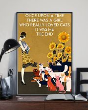 ONCE UPON A TIME THERE WAS A GIRL WHO LOVED CATS 16x24 Poster lifestyle-poster-2