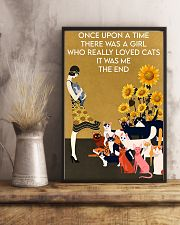 ONCE UPON A TIME THERE WAS A GIRL WHO LOVED CATS 16x24 Poster lifestyle-poster-3