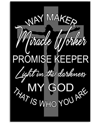 WAY MAKER MIRACLE WORKER - JESUS