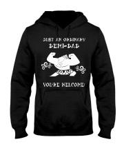 JUST AN ORDINARY DEMI-DAD Hooded Sweatshirt thumbnail