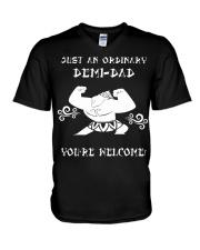 JUST AN ORDINARY DEMI-DAD V-Neck T-Shirt thumbnail