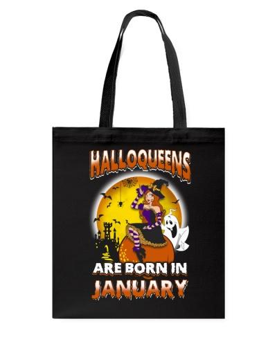 HALLOQUEENS ARE BORN IN JANUARY
