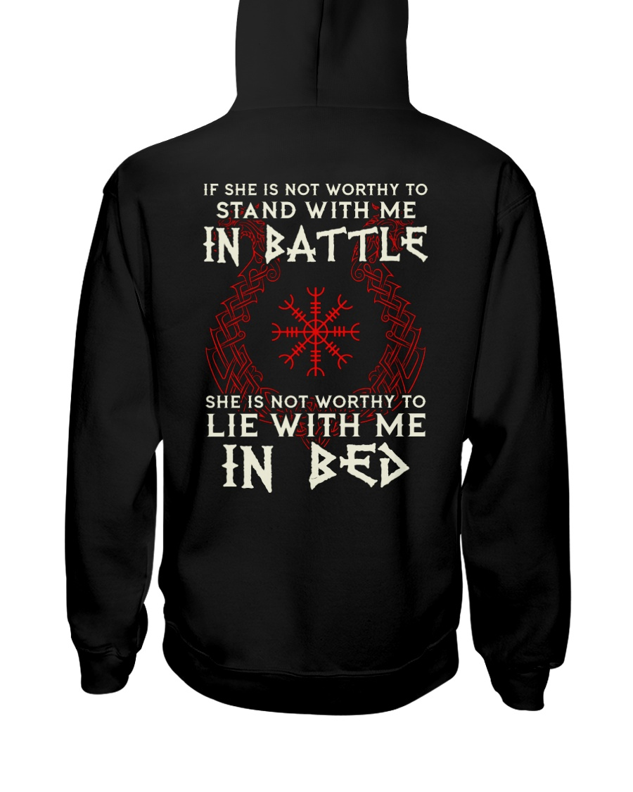 VIKINGS VALHALLA - STAND WITH ME Hooded Sweatshirt