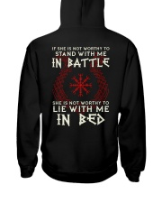 VIKINGS VALHALLA - STAND WITH ME Hooded Sweatshirt back