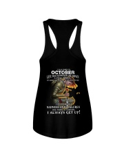 I ALWAYS GET UP - OCTOBER Ladies Flowy Tank thumbnail