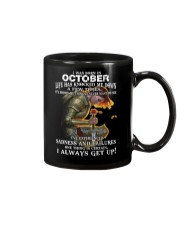 I ALWAYS GET UP - OCTOBER Mug thumbnail