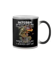 I ALWAYS GET UP - OCTOBER Color Changing Mug thumbnail